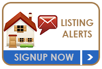 Listing Alerts Call to Action button for Abq Home Search